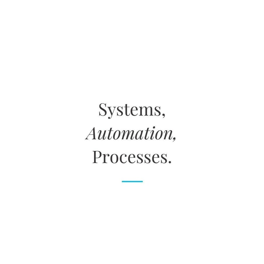 Systems, automation, processes.  This is the heart of any good business.  #MotivationalQuote #SuffolkBusiness #Marketing #PR #BusinessGoals #BizTips #SmallBusiness #Business #BusinessMarketing #BusinessAsUsual #BusinessBabe #Entrepreneur #EntrepreneurLif… https://t.co/ofdZKFTfdP https://t.co/kirClIkUxO