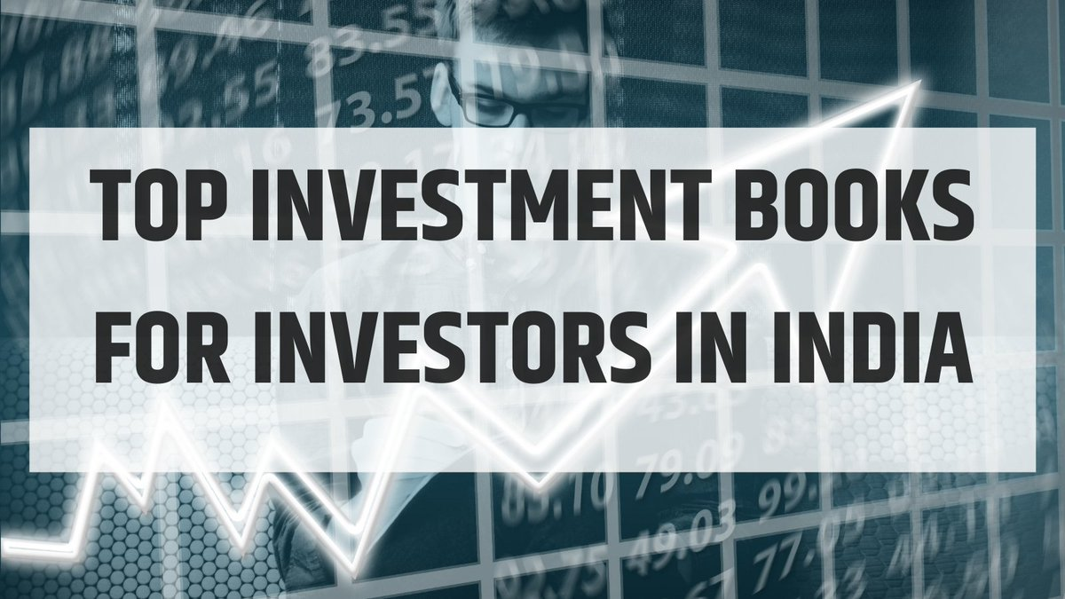 🚀Top Investment books for Investors in India  🚀Must read books for all Equity Investors in India  Thread 🧵  In no particular Order..  #InvestBooks