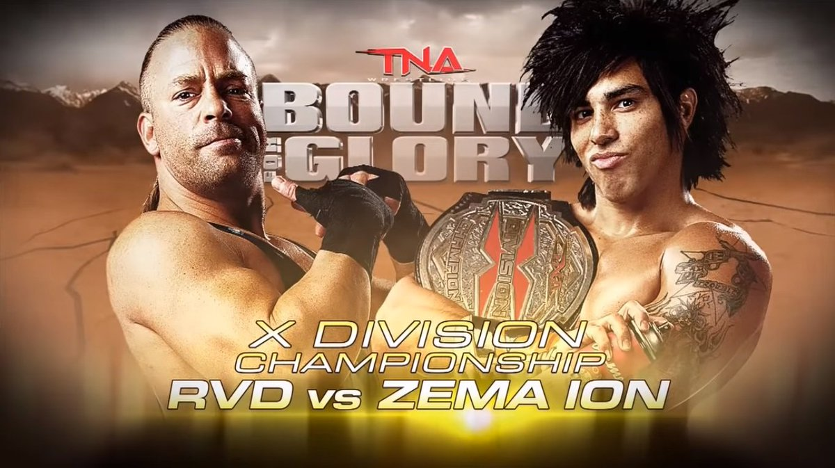 10/14/2012  Rob Van Dam defeated Zema Ion to win the X-Division Championship at #BoundForGlory from The Grand Canyon University Arena in Phoenix, Arizona  #TNA #ImpactWrestling #TotalNonstopAction #RobVanDam #RVD #TheWholeFuckingShow #OneOfAKind #ZemaIon #DJZ #WWE #WWEHistory https://t.co/Goj6DB4A1f