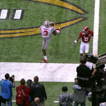 9⃣, TD grabs for Michael Thomas (@Cantguardmike) in @OhioStateFBs 2014 national title season. #CountdownToKickoff