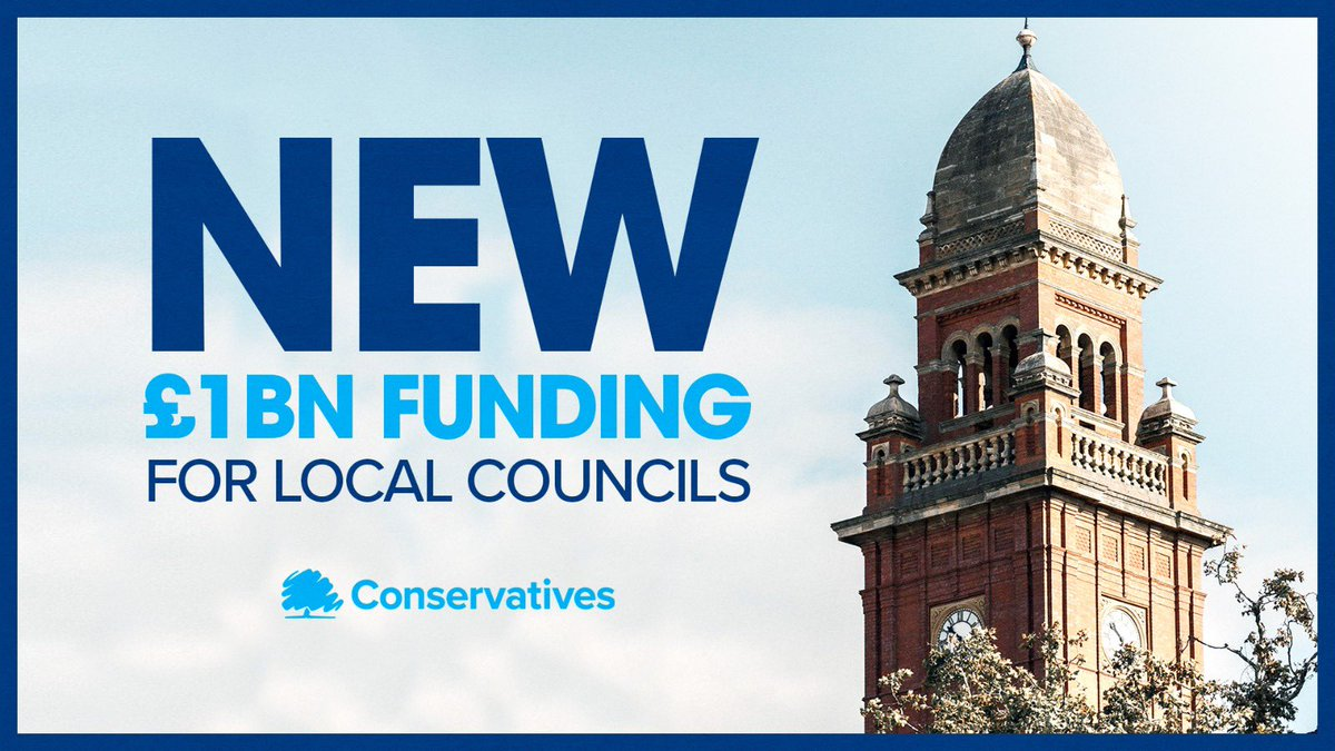 We're providing councils in England with an additional £1 billion, protecting vital services this winter. The latest in our comprehensive package of support.