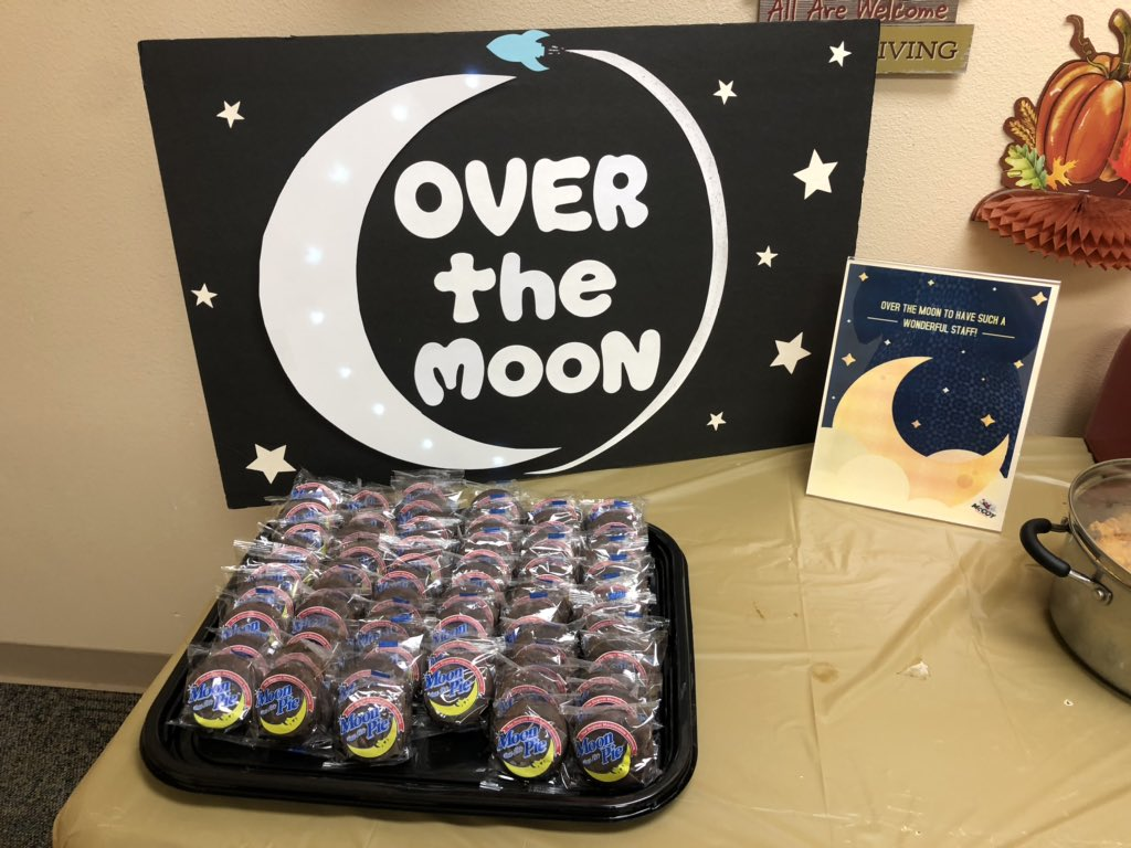 @McCoyElem_OCPS is Over The Moon for our staff!! @OCPSnews @maria_f_vazquez @Southeast_OCPS