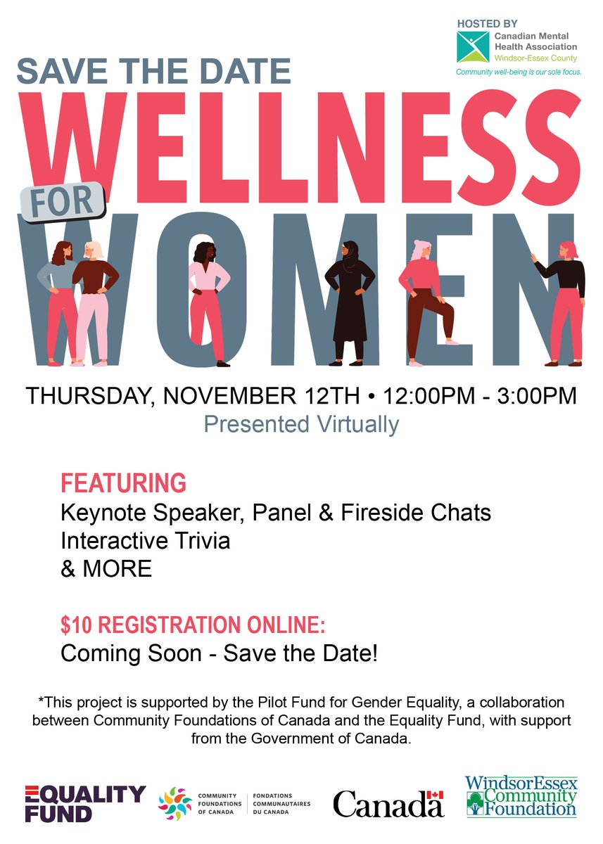 test Twitter Media - 2020 has been tough for all of us.   Ladies👭take some time for yourself! This FUN, Informative, Interactive event is happening on Nov 12.   SAVE THE DATE! Details to follow next week.   #WomenSupportingWomen #MentalHealth #wellness #DiversityandInclusion https://t.co/GZ8sx2U575