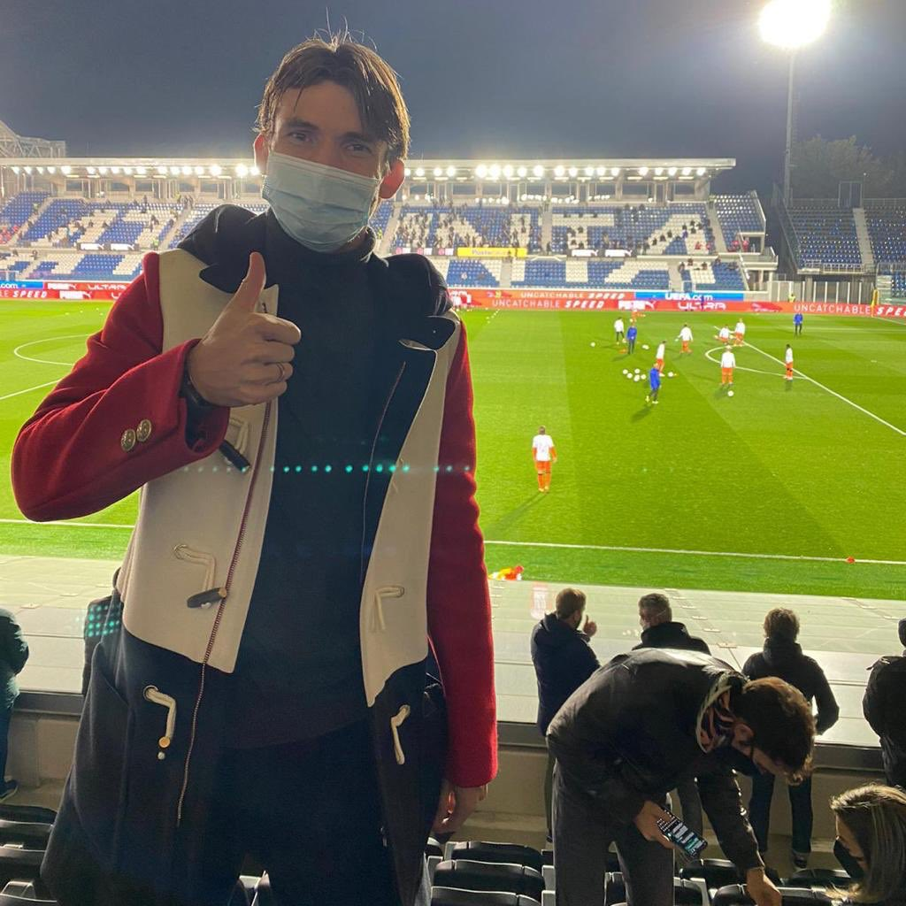 Always important to have a good relationship with the stadium security @Atalanta_BC . #suspended #stillhere