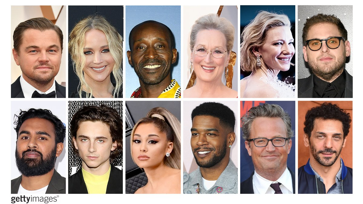 The cast of Adam McKay's DON'T LOOK UP is absolutely iconic:  💫Leonardo DiCaprio joins 💫Jennifer Lawrence & 💫Rob Morgan alongside 💫Meryl Streep 💫Cate Blanchett 💫Jonah Hill 💫Himesh Patel 💫Timothée Chalamet 💫Ariana Grande 💫Kid Cudi 💫Matthew Perry 💫Tomer Sisley https://t.co/UODRd7r2t8