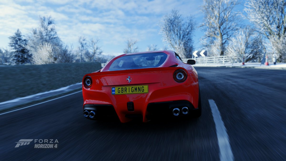 This Ferrari F12 Berlinetta is so fast! #ForzaHorizon4  Check Out The Video Today At 6PM! Steering Wheel + Paddle Shifter Gameplay https://t.co/5LVUEf7guO  @ForzaHorizon @ScuderiaFerrari #forzahorizon #ferrarif12 #steeringwheelgameplay #thrustmastertx @Xbox https://t.co/cM5inCFOuy