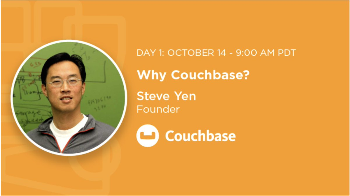 RT @couchbase Why should you use #Couchbase instead of plain old #RDBMS? Hear from @steveyentweets at 9 am PT at #CBConnectONLINE today as he talks about Couchbase's role in helping build apps rapidly, and more. https://t.co/g1SYHVoyM9 https://t.co/QUfQuTK0b8