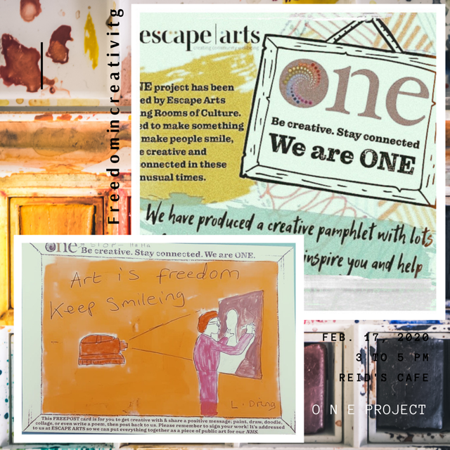 So little time and so much creativity awaits!  Be part of our ONE project, take the chance to be celebrated at Warwick Hospital and George Eliot Hospital! The deadline is Nigh 23rd October! lets go!#creativecarecw #WeAreOne #CreateWell2020 #BestWarwickshire https://t.co/j7r4AjTrLc