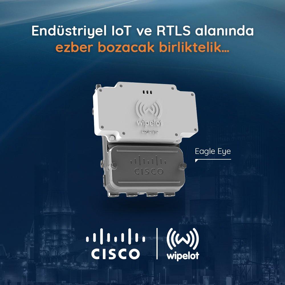 #Cisco #UWB #IoT #IIoT #industrial