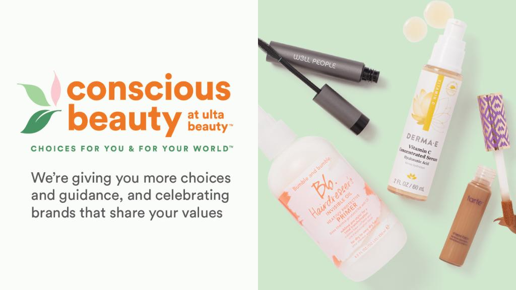 Introducing: Conscious Beauty at Ulta Beauty™ 💚 We believe in making a positive impact on you and leaving a positive legacy for our world. That's why we're giving you more choices and guidance and celebrating brands that share your values.   Learn more👉 https://t.co/5paDAFIkSp https://t.co/PVWHQYc8f7