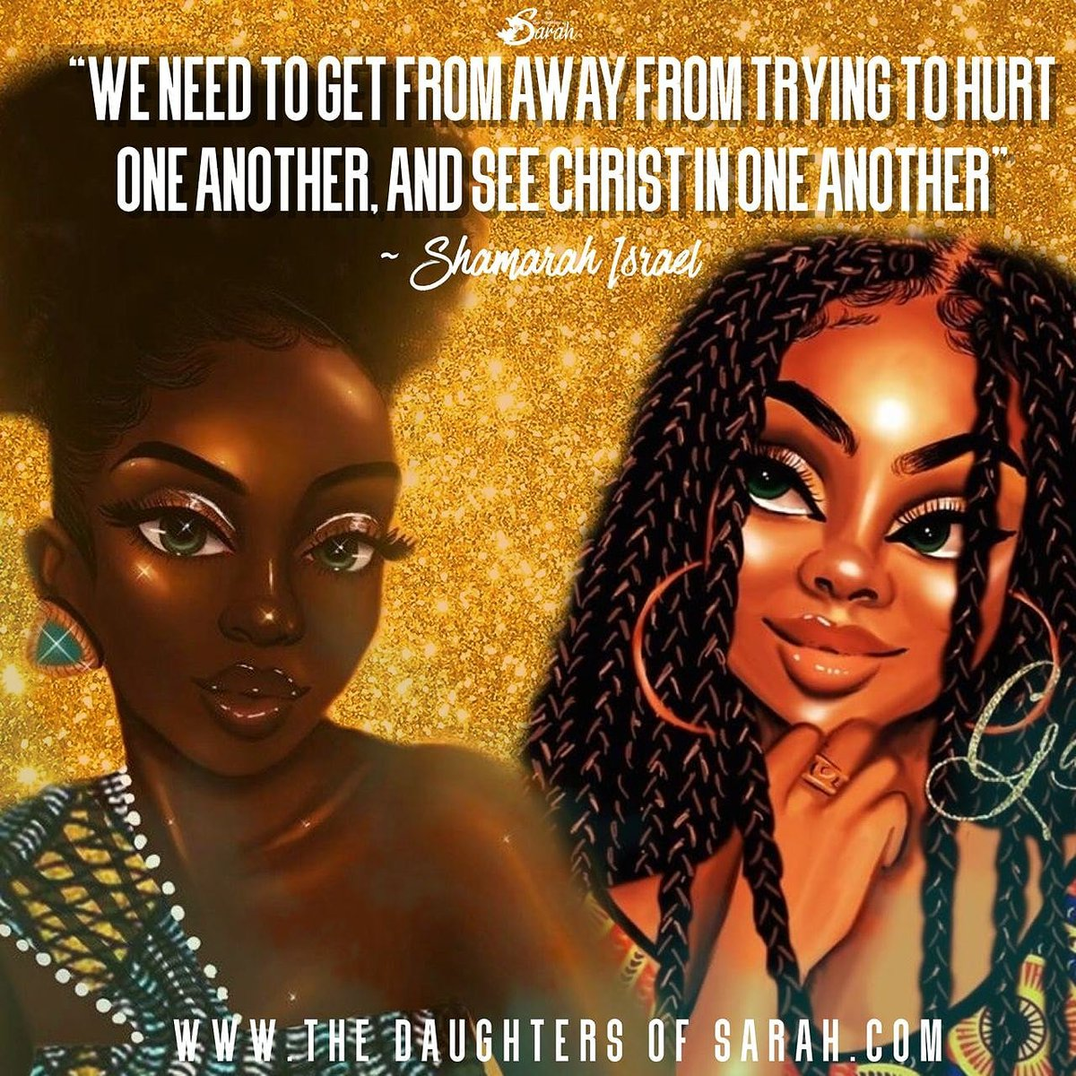Its #WEAREWEDNESDAY! #Diverse yes but yet the same. We should #build each other up in our differences instead of tearing each other down through them. #Speckled birds is what God calls us, Stay Focused!  #DOS #TITUS2CHAT #COLORISM #BUILD #SISTERHOOD #SISTERSKEEPER https://t.co/QeQjRnNMuV