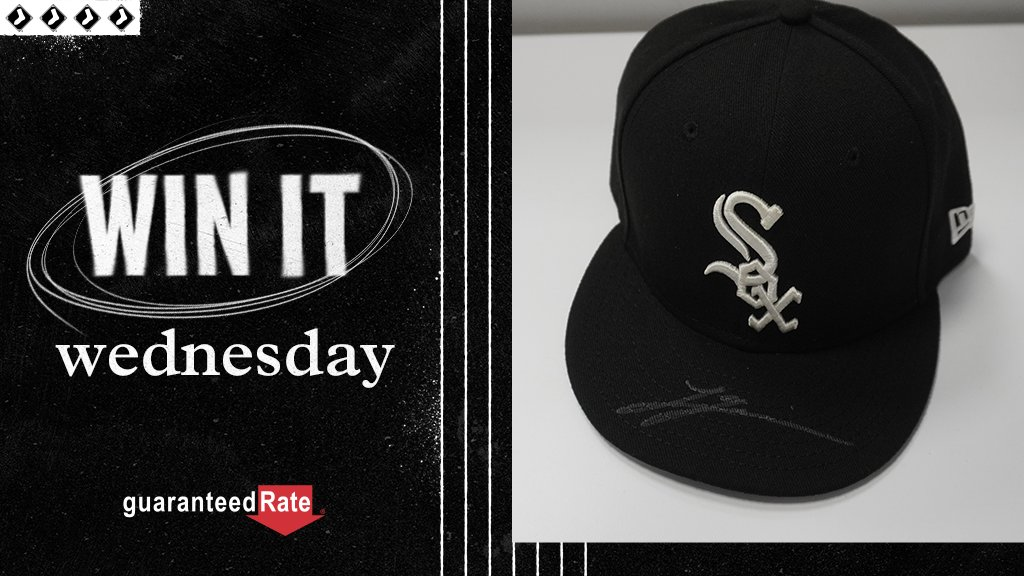 It's Win It Wednesday! RT for a chance to win a hat signed by Lucas Giolito! #WhiteSox x @guaranteedrate  No purch. nec. Enter by 11:59 p.m. CT on 10/14/20. Official Rules: https://t.co/930LKQgIoY https://t.co/x0EsLmckZK