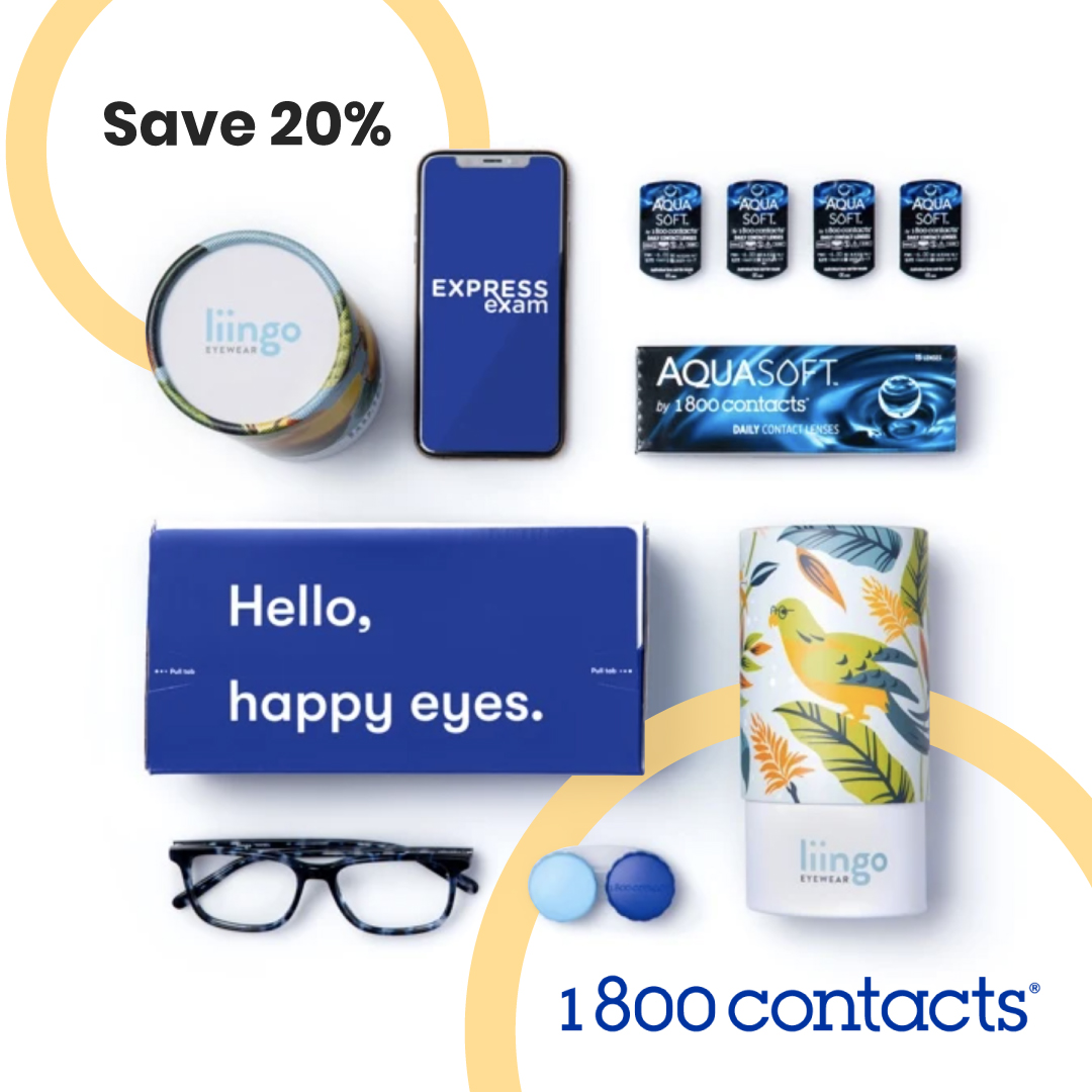 Get 20% off $150 at @1800CONTACTS as new customer  Get your deal here: https://t.co/K0WwLZy2bv  #1800contacts #contactlens #newcustomers https://t.co/ye4dPm1SOe