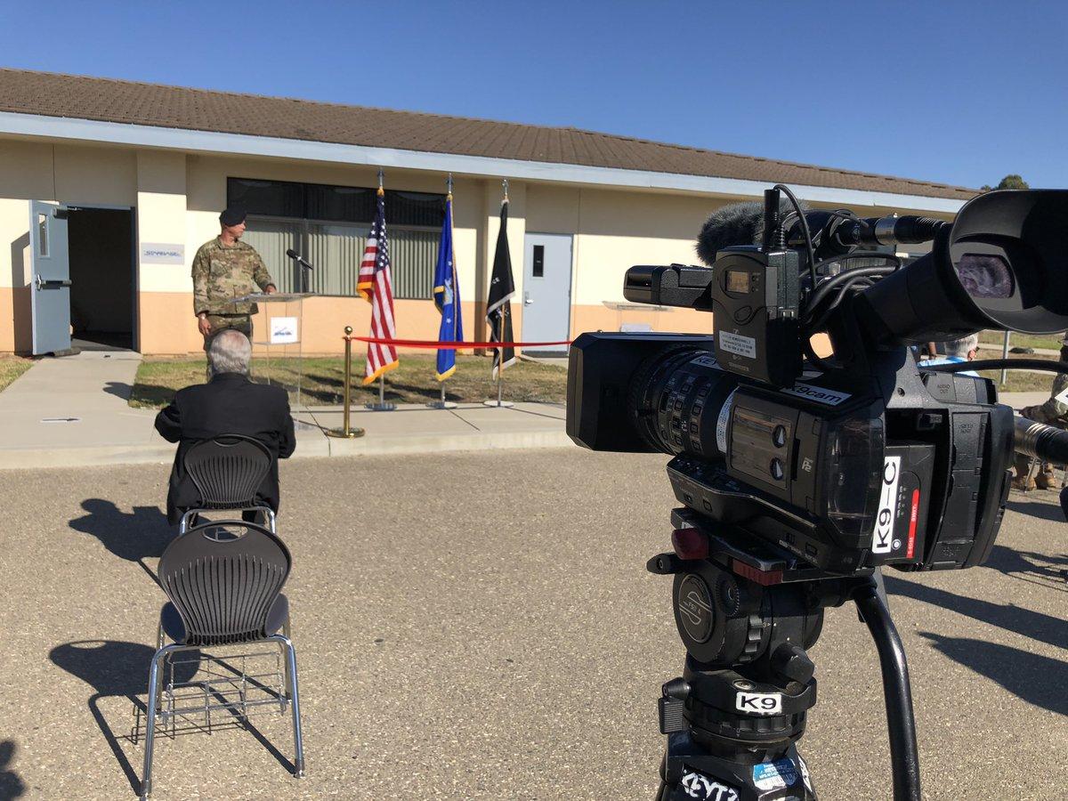 Vandenberg Air Force Base cutting the ribbon for new Starbase STEM education initiative. @30thSpaceWing @countyofsb #SantaBarbaraNews #VAFB #Vandenberg #STEM #STEMeducation