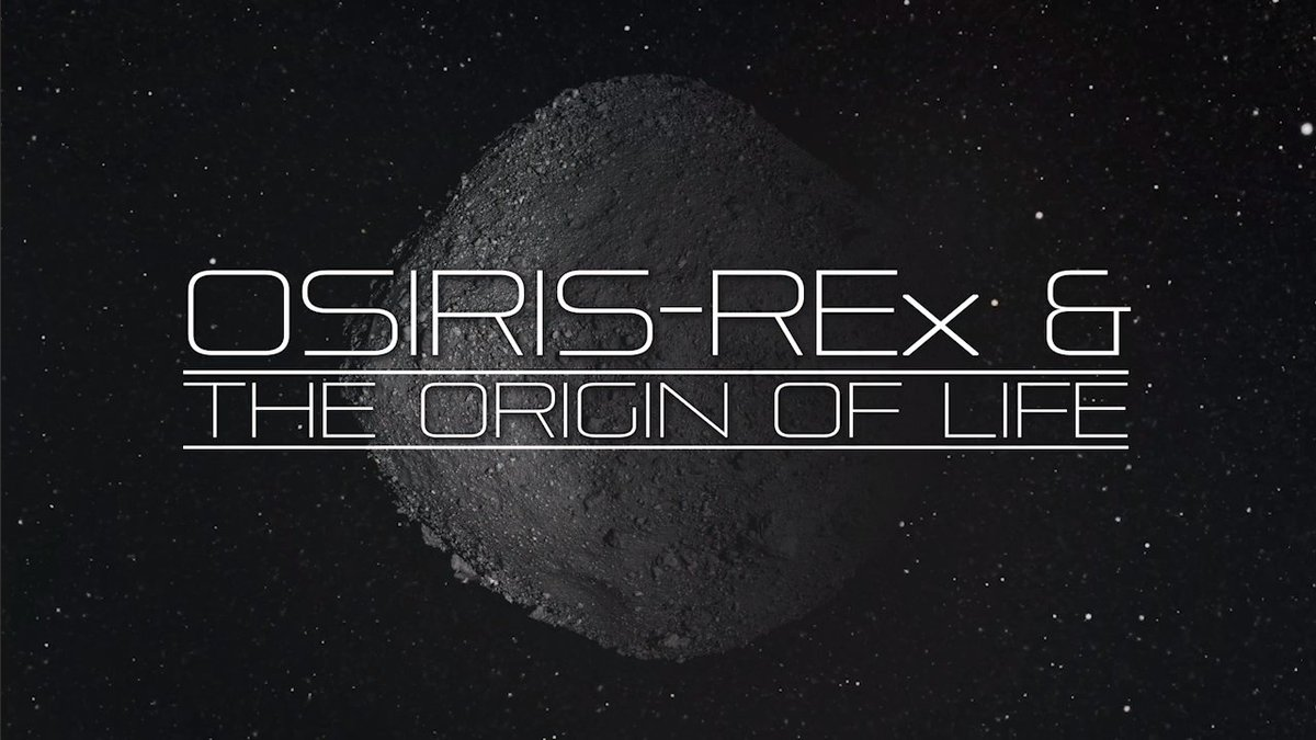 Today @OSIRISREx will touch down on Bennu — @NASA's first attempt to sample an asteroid in space, with hopes of returning it to Earth. Find out the importance of #ToBennuAndBack in our search to understand the role that asteroids in the origins of life: youtu.be/HCrwF4oBCvk