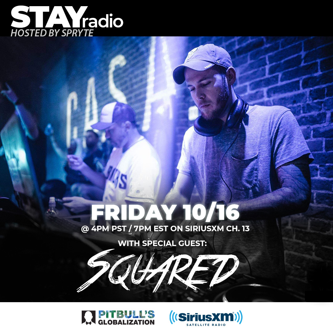 Remix extraordinaire @SquaredTheDJ drops a guest set this Friday on the show! Tune in to Globalization Channel 13 (SiriusXM) at 4pm PST / 7pm EST. https://t.co/TXbbcamDjG