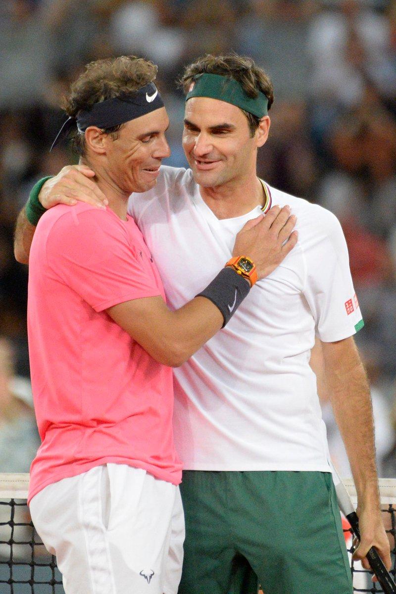 🇪🇸 2️⃣0️⃣ ➕ 🇨🇭2️⃣0️⃣   📆 2️⃣0️⃣2️⃣0️⃣  #tennis #Nadal #Federer https://t.co/WVaeL8f7rx