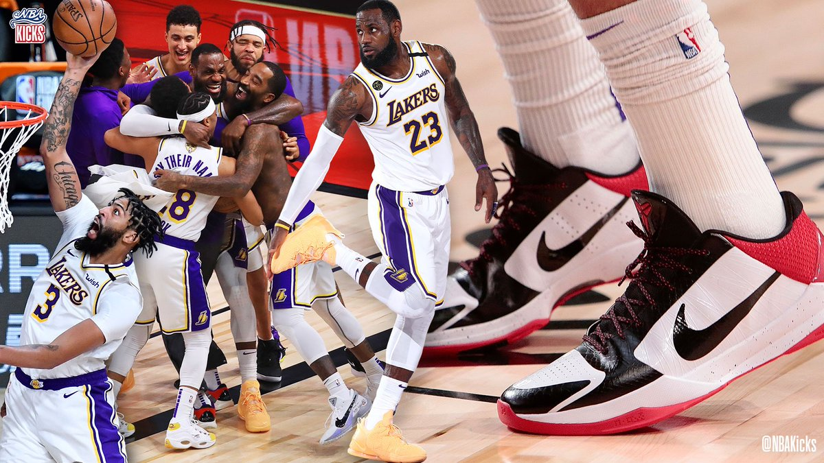 Who had your fave #NBAKicks on the 2020 NBA champion @Lakers? https://t.co/muTQOTN0Nj
