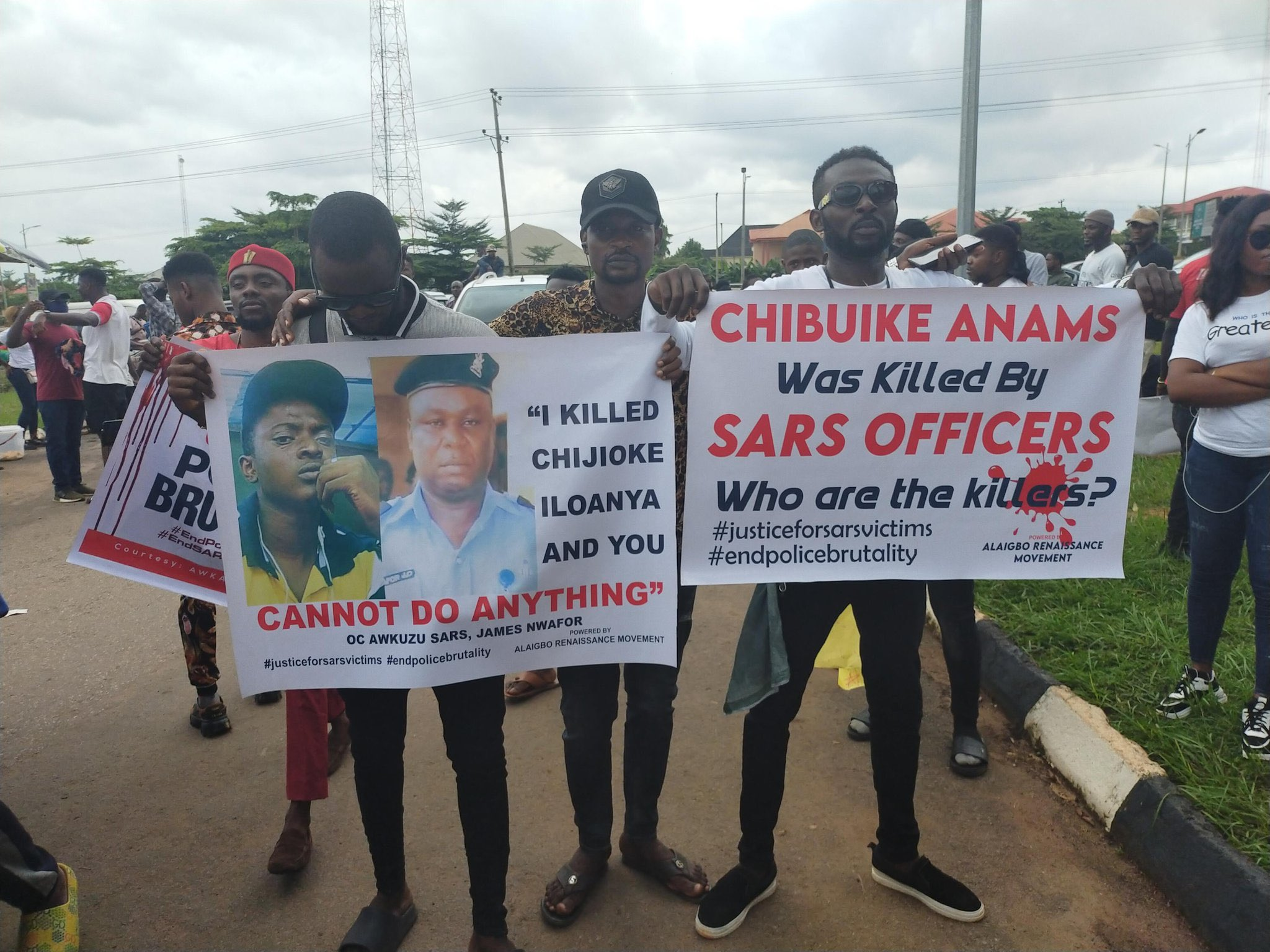 #EndSars: Obiano sacks aide, James Nwafor, as protesters hit hard in Anambra