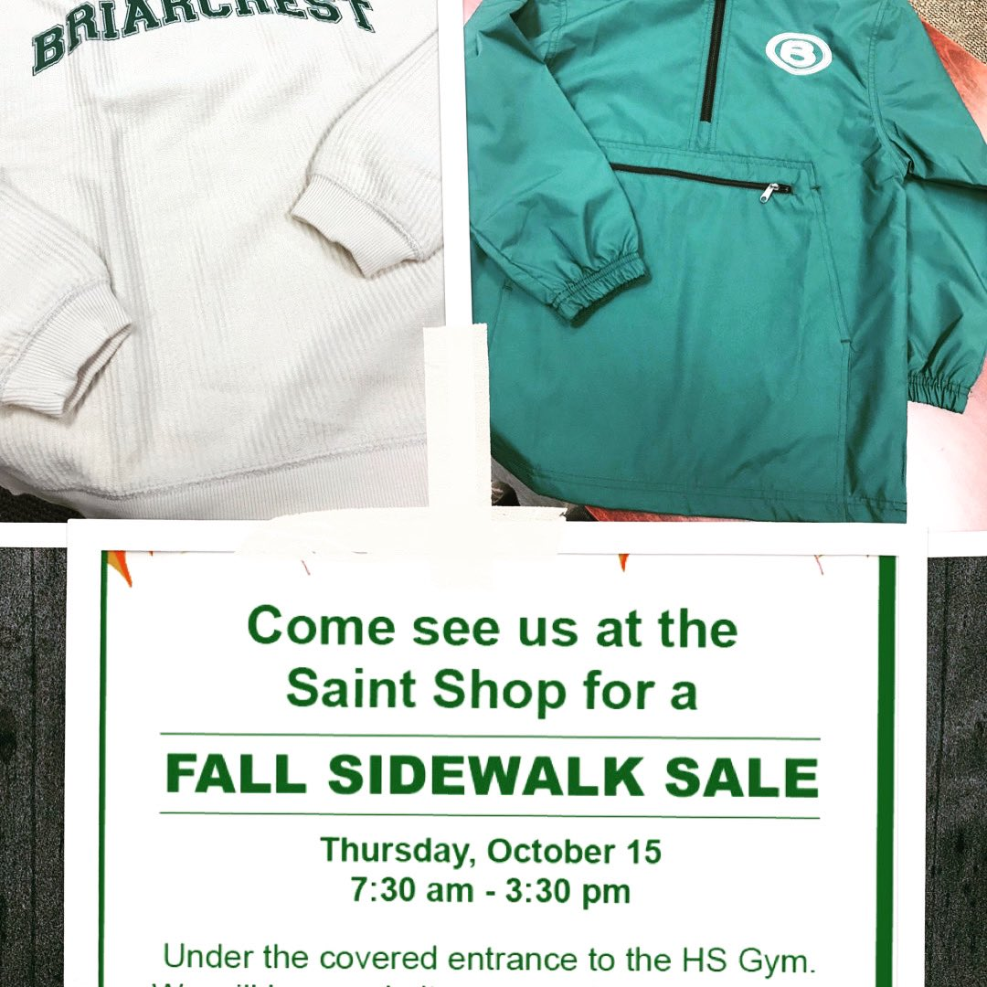 Fall weather is here and make sure you stay on trend.  See you tomorrow at the #sidewalksale 👇🏻 https://t.co/pirSfic1s3