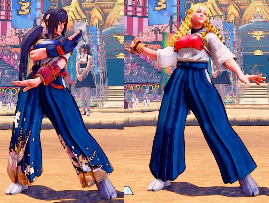 overlord zetta on twitter i am really happy that there are more fexl costume in sf5 what i like about karin new costume is that if you do the code you twitter