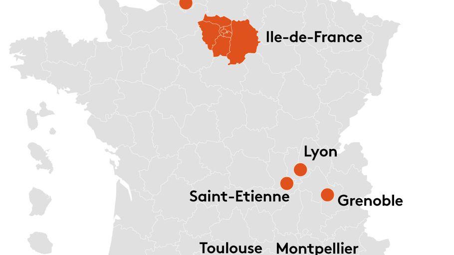 Franceinfo On Twitter Macron20h Covid 19 Decouvrez La Carte Des Villes Ou Le Couvre Feu Est Instaure A Partir De Samedi Https T Co 2rl5jvgrxs Https T Co Ifqh9xnzgx