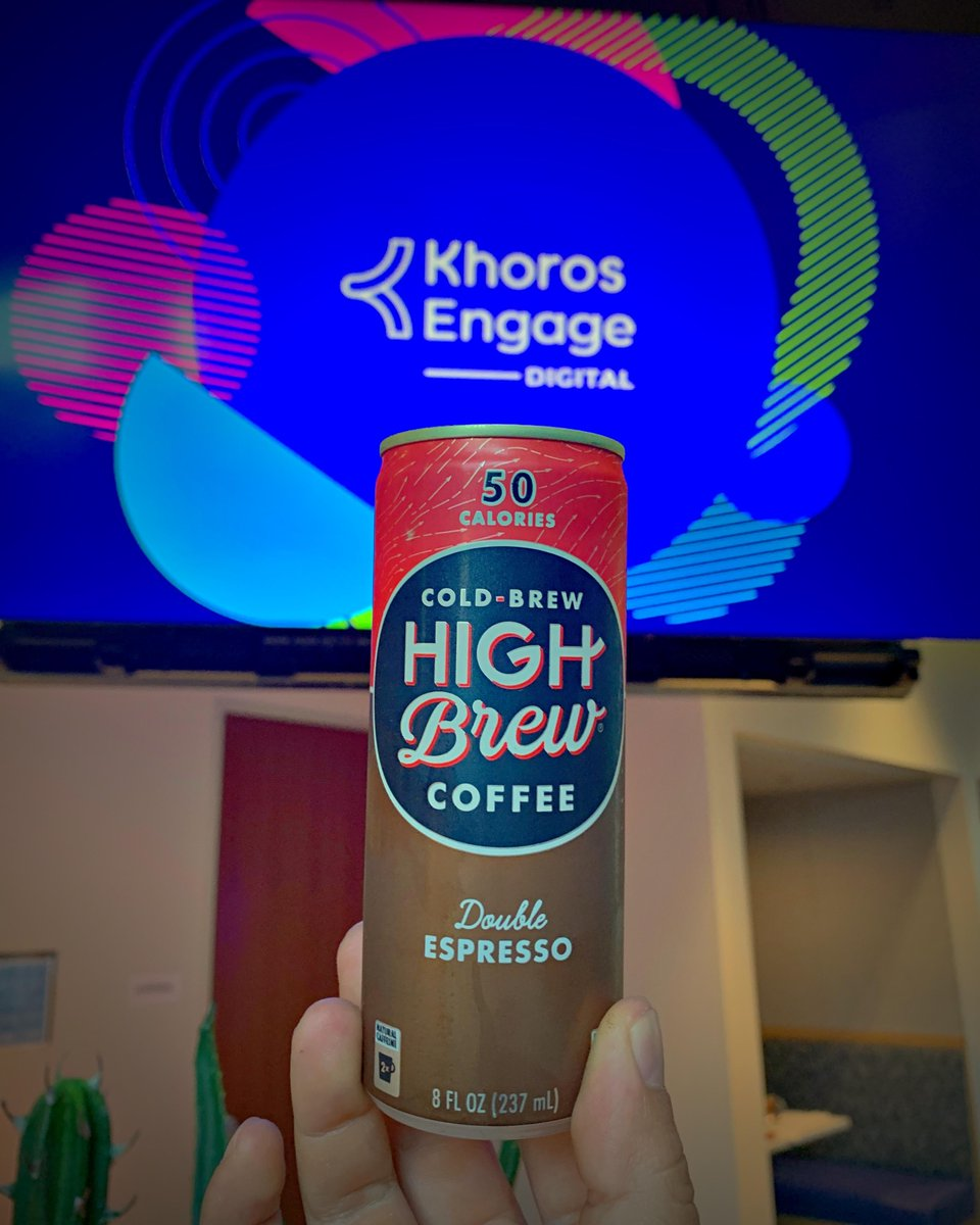 Our afternoon keynotes begin in 30 minutes! Grab your cold brew for the 2nd half of #KhorosEngage: https://t.co/hWoVuP1NIz https://t.co/RRxSeXgwin