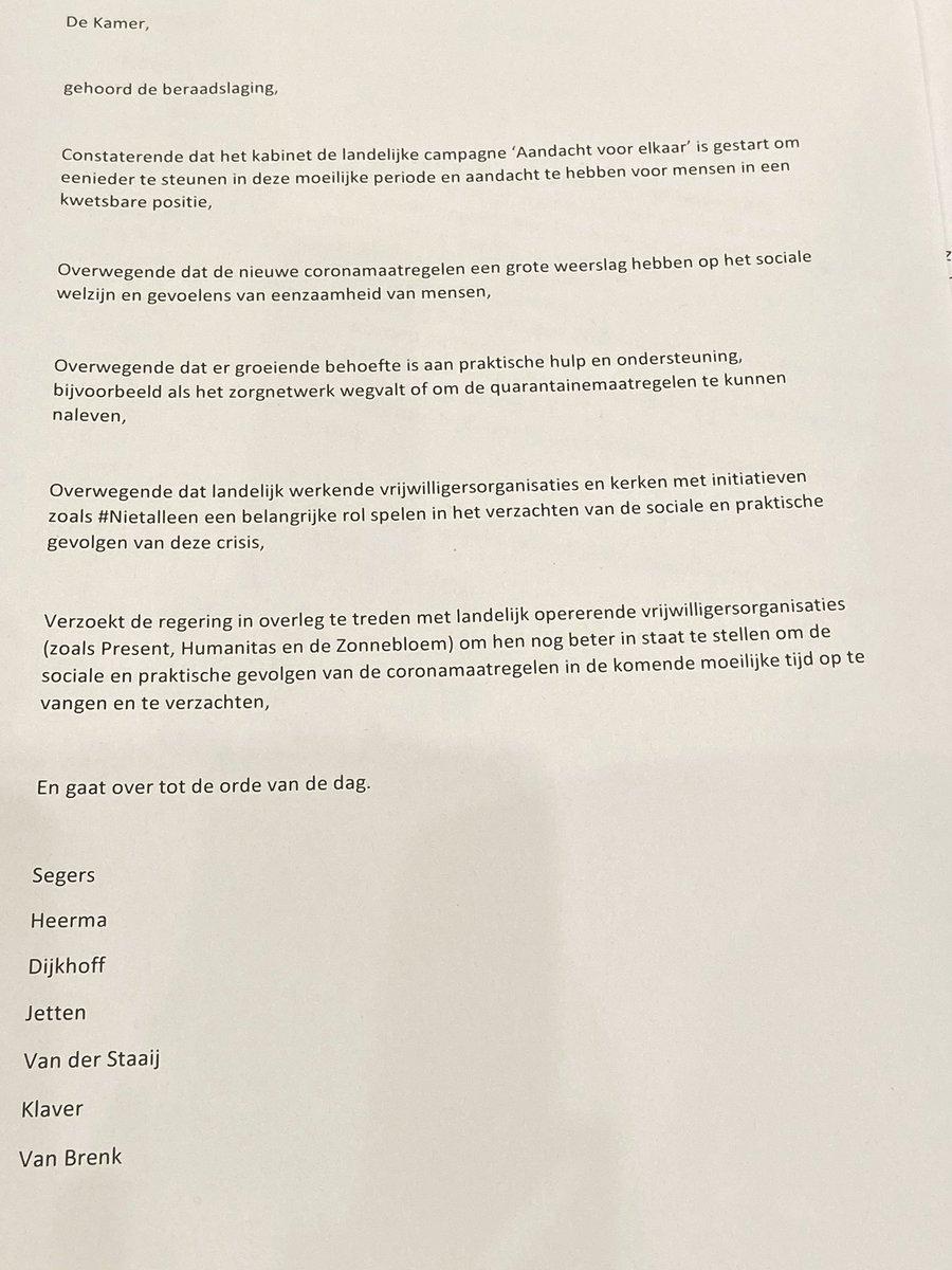 Goed, dat hier landelijk aandacht voor is. Zou mooi zijn als dit ook in #Delft wordt opgepakt. Zoals bijv. #Jessehof #KoffieNL #HuisNL Op dit moment hebben zij moeten besluiten te sluiten. #ééntegeneenzaamheid