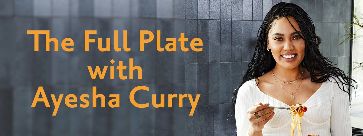 "One week left to buy tickets and a copy of ""The Full Plate,"" the new cookbook from @ayeshacurry!"