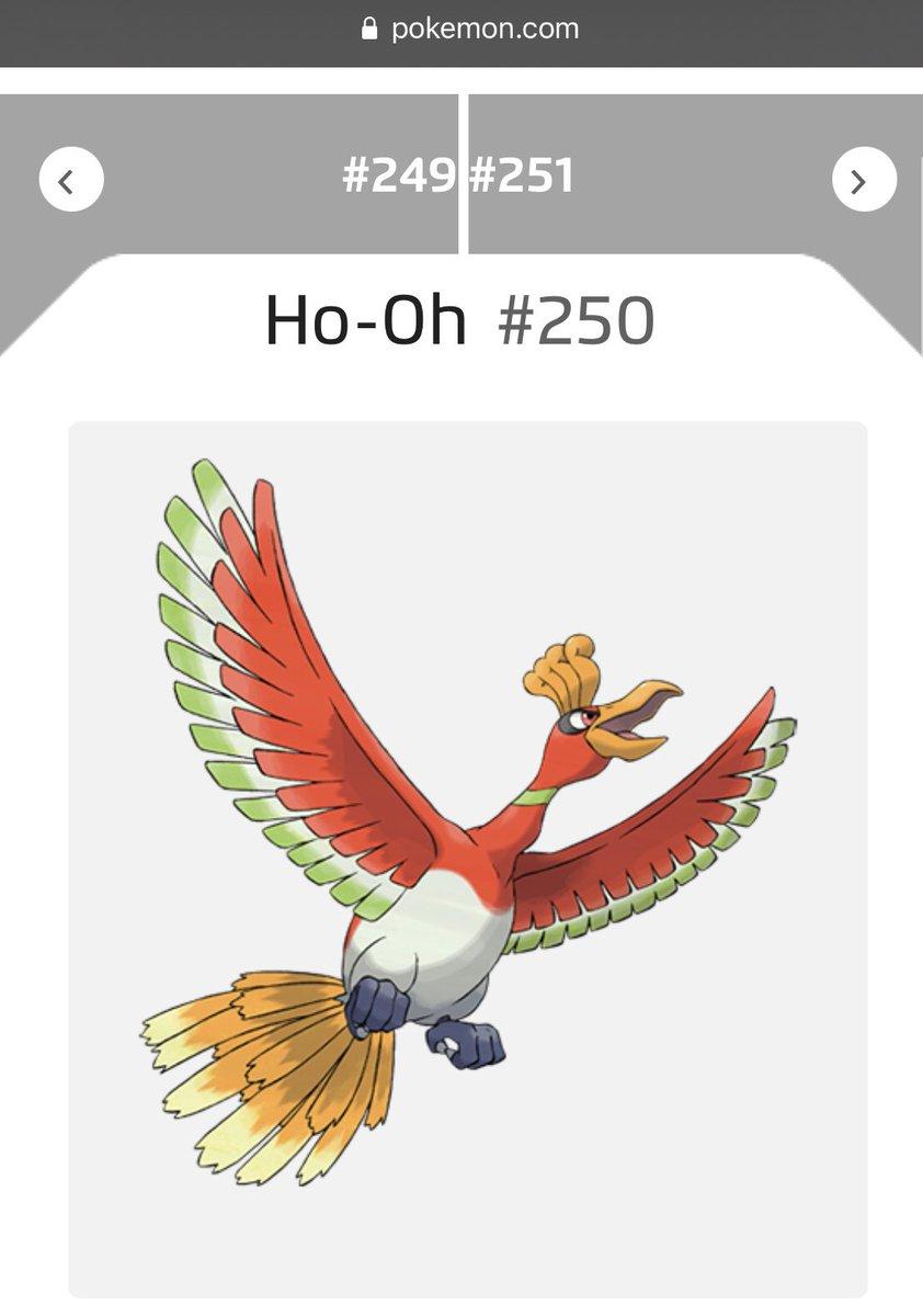 test ツイッターメディア - 【ポケモン英語名雑学】 今日のポケモンは全国図鑑No.250、にじいろポケモンのホウオウ。英語名はHo-Oh(ホウオウ)、Rainbow(にじ)ポケモン。伝ポケらしく、日英が同一の名前となっています。中国神話の伝説の鳥、鳳凰が語源となります。 明日も全国図鑑からランダムで1日1回、ご紹介します。 https://t.co/6xNoigjeY8