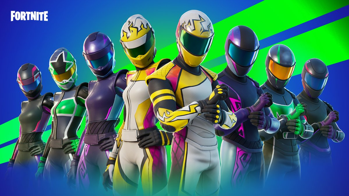 fortnite on twitter taking on minimal drag and keeping other racers in their rearview this crew is known for finishing first get the road crew set in the item shop now https t co d6kjh9josc fortnite on twitter taking on minimal