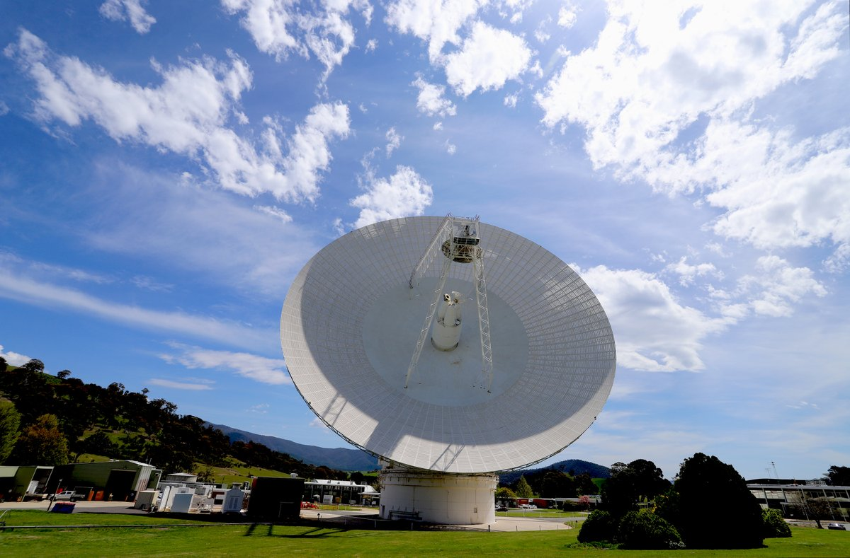 We are into the 30th week of the upgrade project on Deep Space Station 43, with testing and commissioning of new equipment continuing and antenna pointing calibrations well underway. Everything appears to be going well for a return to service in early 2021. #DSS43 📡👍