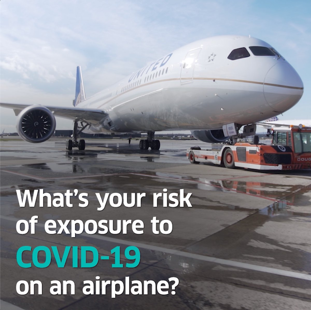The results are in: Your risk of exposure to COVID-19 is almost non-existent on our flights (yes, even on a full flight).   Learn more about the robotic mannequins, biodefense sensors and the results of this @DeptofDefense study here: https://t.co/NkqsW8r16A https://t.co/KRMCrpPfGX