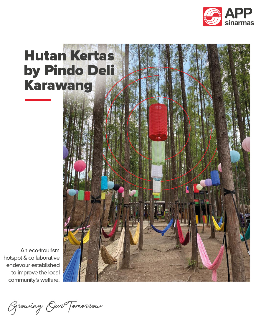 Have you heard of #HutanKertas (Paper Forest)? Located in a small forest around #PindoDeliKarawang, this eco-tourism hotspot is gaining a lot of attention, thanks to the collaborative efforts of various stakeholders to improve the local community's' welfare.  #CSRProgram https://t.co/UZ5UJkdPtV