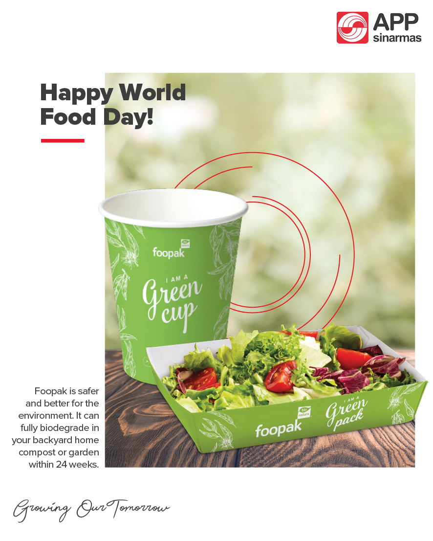 Did you know that the Foopak Bio Natura packaging board can fully biodegrade in your backyard home compost or garden within 24 weeks? Be an eco-hero for our environment; start from changing the way we choose our food packaging!   Happy #WorldFoodDay! #FoodHeroes https://t.co/Iyp0gU320M