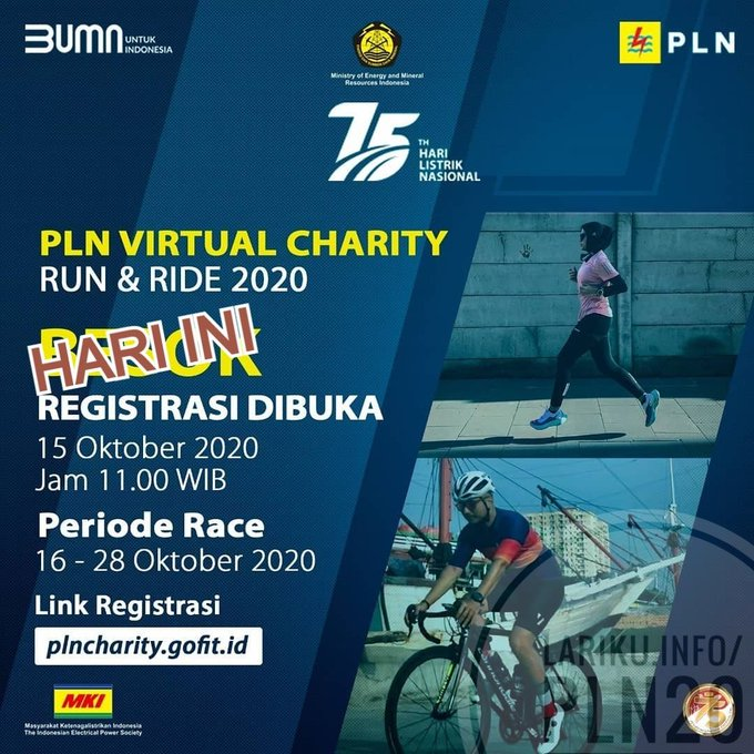 PLN Virtual Charity Run & Ride • 2020