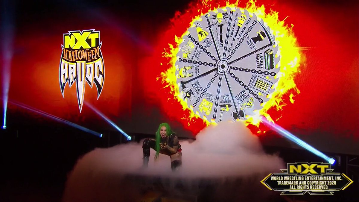 """Spin The Wheel, Make A Deal"" Returning For WWE NXT Halloween Havoc, Updated Card"