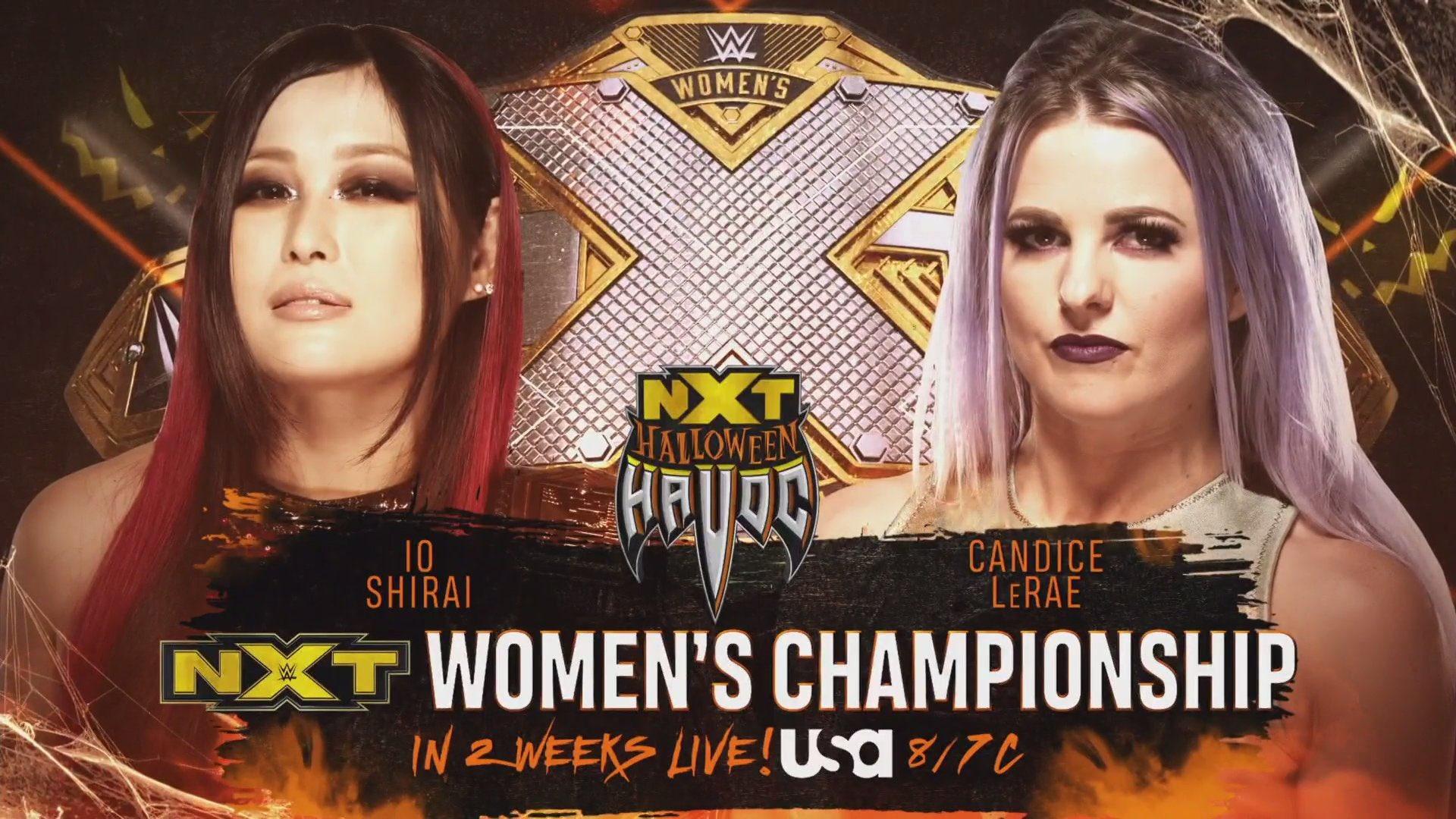 Halloween Havoc 2020: Spin The Wheel Returning To WWE NXT 2