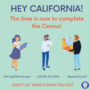 Time is running out! You can complete your #2020Census today by going online to https://t.co/Um7Nh6ev8x until 3:00 am PST, October 16, by phone until 11:00 PM PST October 15 or by paper questionnaires that must be postmarked by October 15, 2020. #BeCounted https://t.co/RfiLMg4Q3d