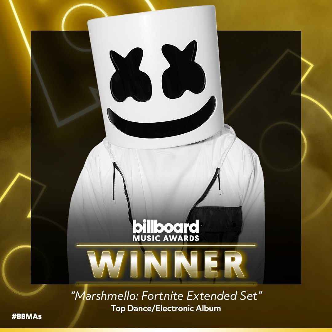 Show @marshmellomusic some love. He just won Top Dance/Electronic Album at the #BBMAs! https://t.co/3ZzBgo4wQz