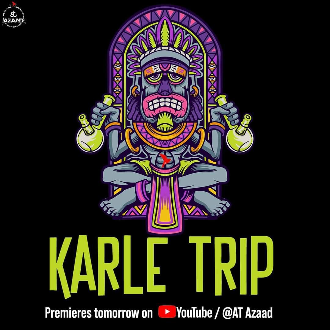 Karle Trip song video releases tomorrow!  Set the reminder here: https://t.co/c0UATim3u0  #KarleTrip #SongsofTrance #TranceMusic #AmitTrivedi #AmitTrivediMusic #ATAzaad https://t.co/KYYHRv0h0u