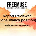 Image for the Tweet beginning: 🔴 We are #hiring!  Freemuse is