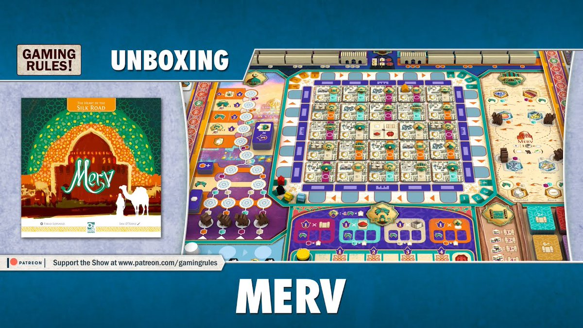 The Heart Of The Silk Road Merv Board Game