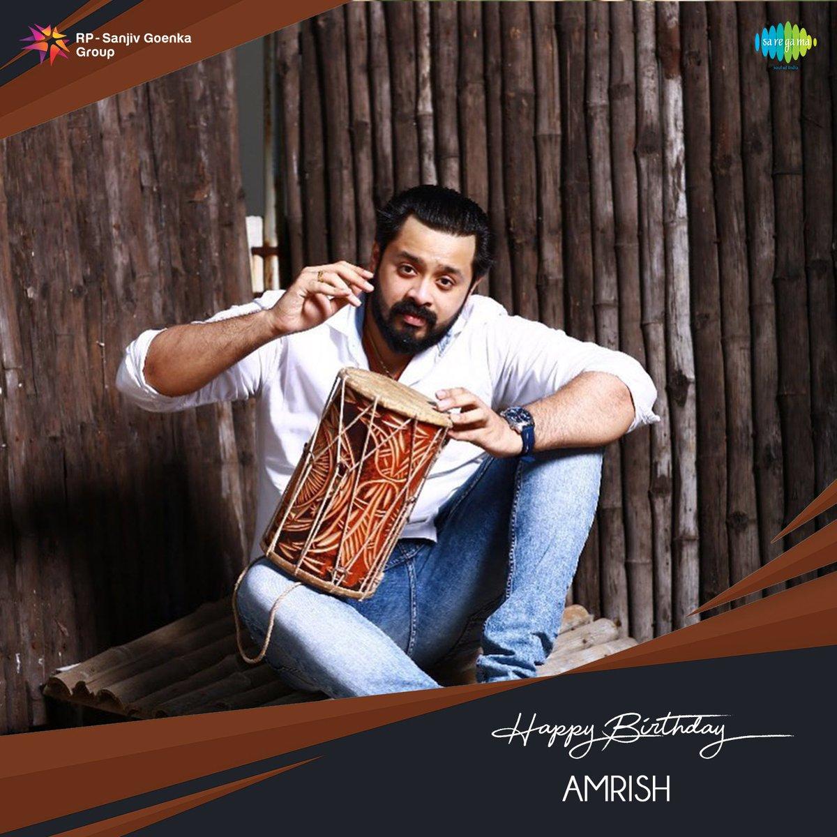 Birthday wishes to the talented music director @AmrishRocks1   #SaregamaWishes #HBDAmrish #HappyBirthdayAmrish https://t.co/eb3f3BmGDz