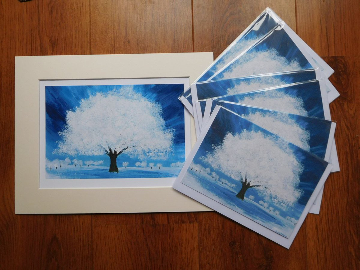 Good morning #earlybiz #LincsConnectChristmas.  Tree of Light available as #print and #greetingcards They make lovely #christmascards and #christmasgift  https://t.co/KDBcXQOb0W https://t.co/dll7t49mns