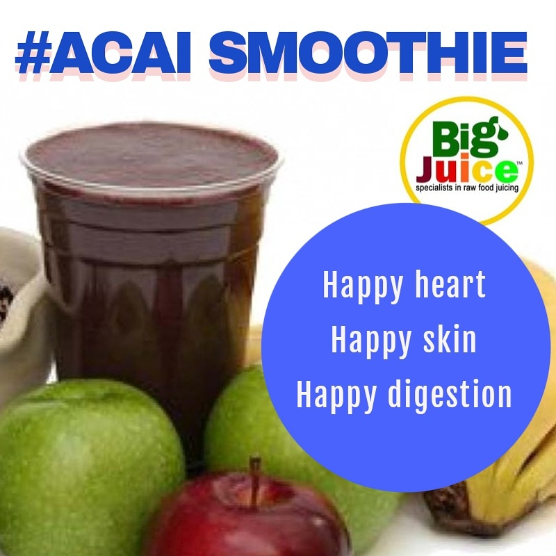 Acai smoothie. Nutritous & delicious. #happyheart #happyskin #happydigestion. The #superberry from #Brazil. Order online or come visit us @stnicksmarket . Take away bottles available. https://t.co/nyRSokFjA8