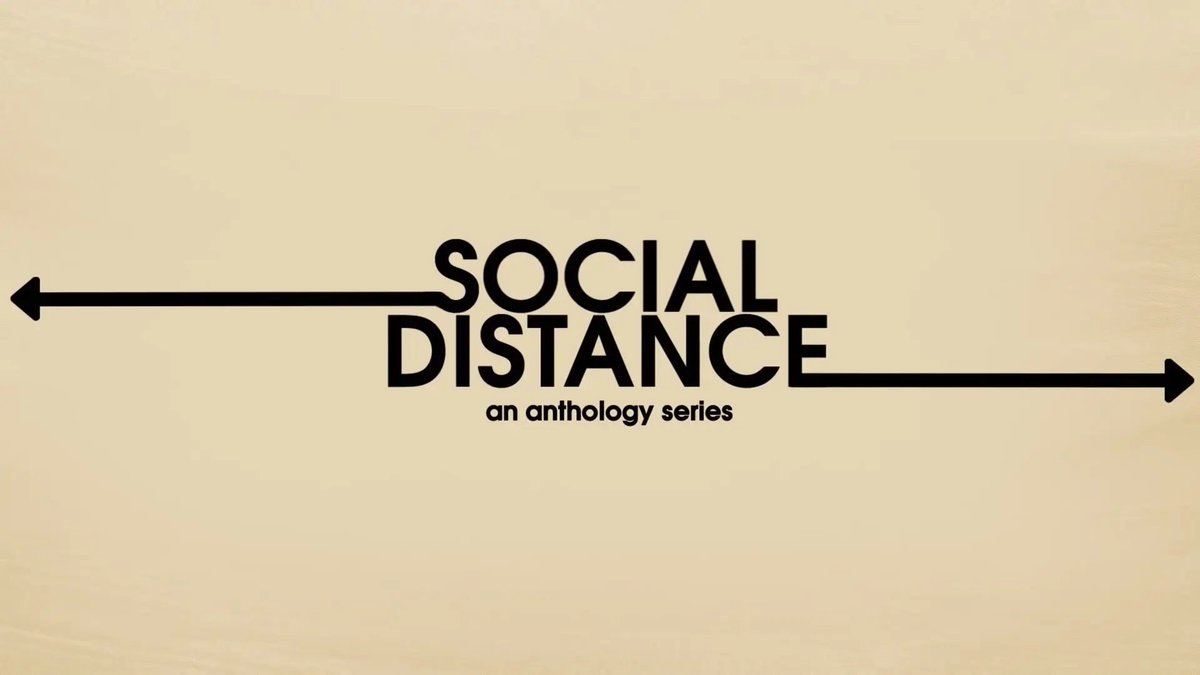 #SocialDistance   this new netflix show is AMAZING https://t.co/9ODyMD4Yf6