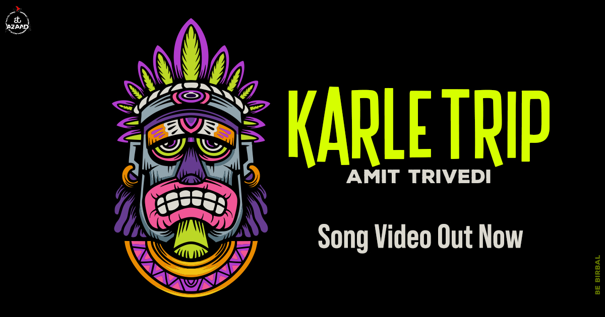 Fasten your seatbelts. This song is about to take you on a trip! Watch the full video here: https://t.co/c0UATim3u0  #KarleTrip #SongsofTrance #TranceMusic #AmitTrivedi #AmitTrivediMusic #ATAzaad https://t.co/IKSvHPHnjx
