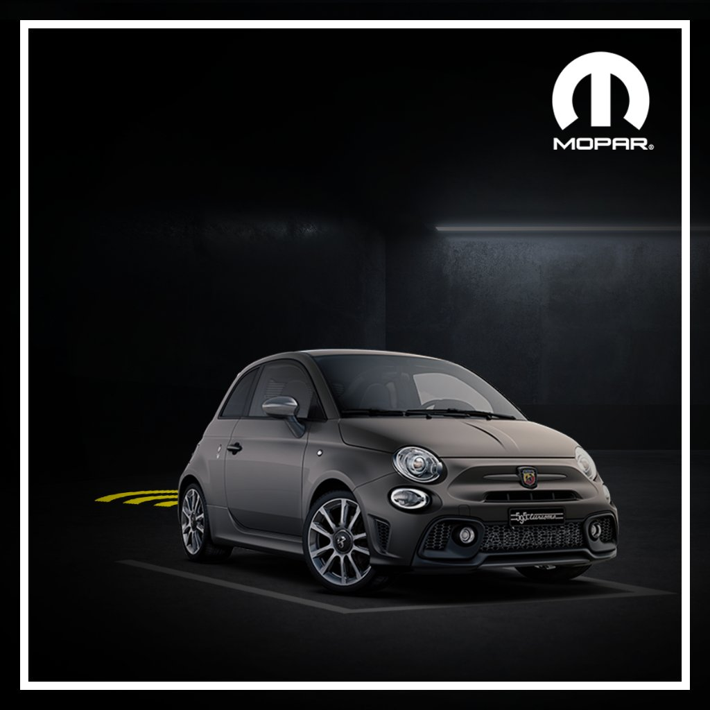 Aparcamiento, no te tememos.  Los sensores de aparcamiento traseros de Mopar® garantizan la máxima seguridad para tu Abarth, incluso en las situaciones más difíciles, como el aparcamiento. https://t.co/sPzsl55FrU