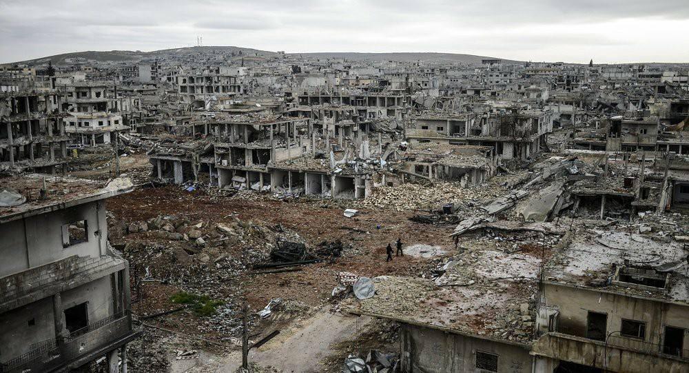 Reconstruction of Kobanê, Rojava How it started: How it's going: